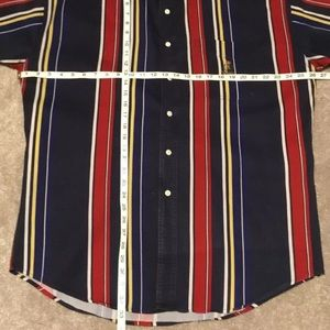 Chaps Ralph Lauren Shirts - 90s Chaps Ralph Lauren Mens Large S/S Shirt
